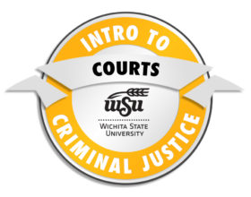 Intro to Criminal Justice Courts badge