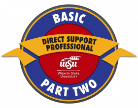 Direct Support Professional Part 2 badge logo